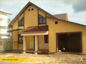 Строительство каркасного дома 200м² в Дарне, Истринский р-н