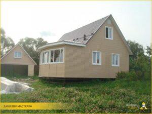 Строительство каркасного дома 105м² в Холщевиках, Истринский р-н