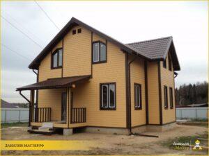 Строительство каркасного дома 170м² в Хованское, Истринский р-н