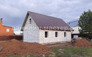 Строительство дома из блоков в Талицах, Истринский р-н