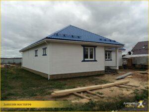Строительство каркасного дома 200м² в Духанино, Истринский р-н