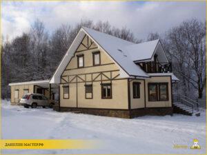 Строительство каркасного дома 147м² в Звенигороде, Одинцовский р-н
