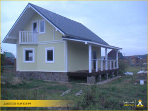 Строительство каркасного дома 85м² в Онуфриево, Истринский р-н