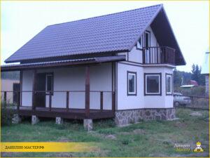 Строительство каркасного дома 85м² в Котово, Истринский р-н