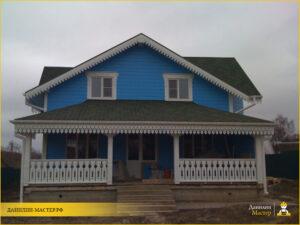 Строительство каркасного дома 120м² в Нахабино, Красногорский р-н